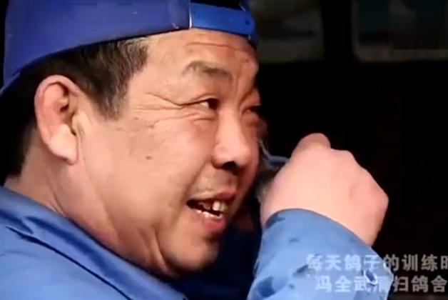 北京冯全武:养鸽始于新鲜